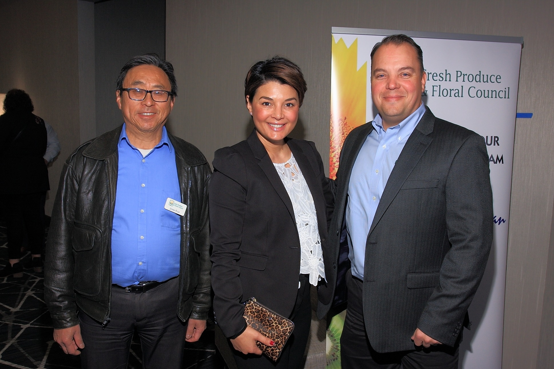 John Fujii from Gelson's with Sonia Sigur of Melissa's and Kraig Loomis of GreenFruit Avocados