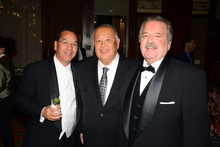 Rick Cruz of Pavilions, Kent Kuwata of Smart & Final, and Brad Martin of Perimeter Sales & Merchandising
