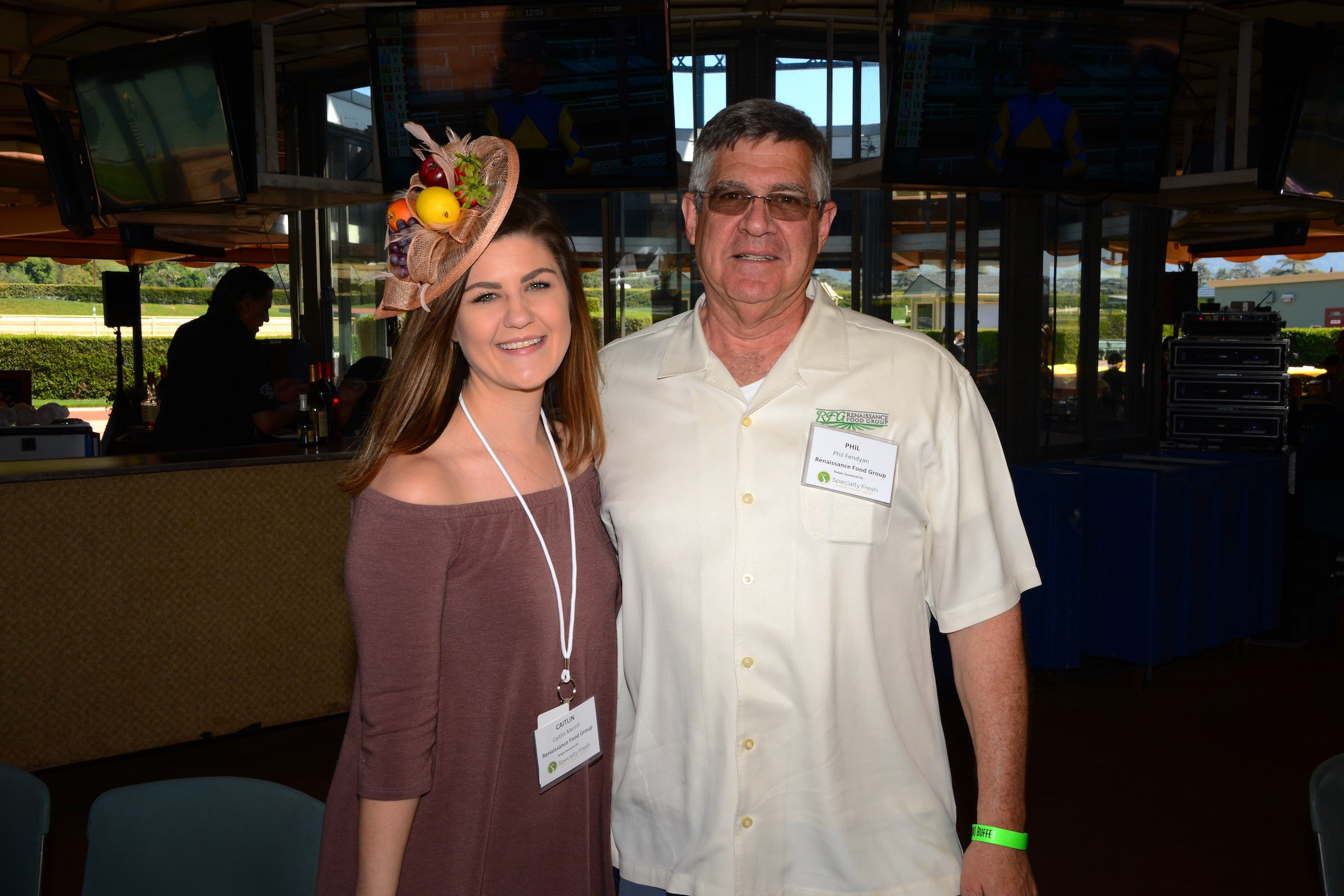 Caitlin Merrill and Phil Fendyan from Renaissance Food Group