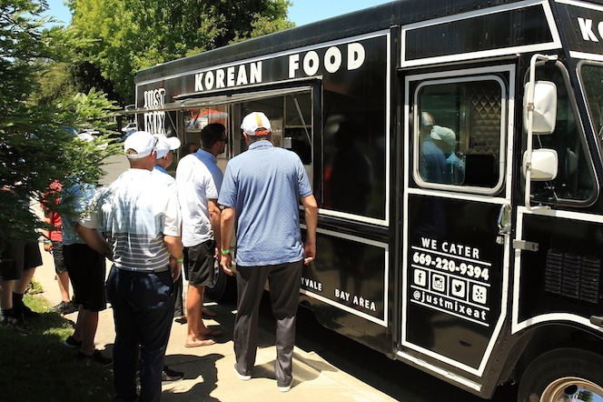 The Korean Fusion food truck was a big hit