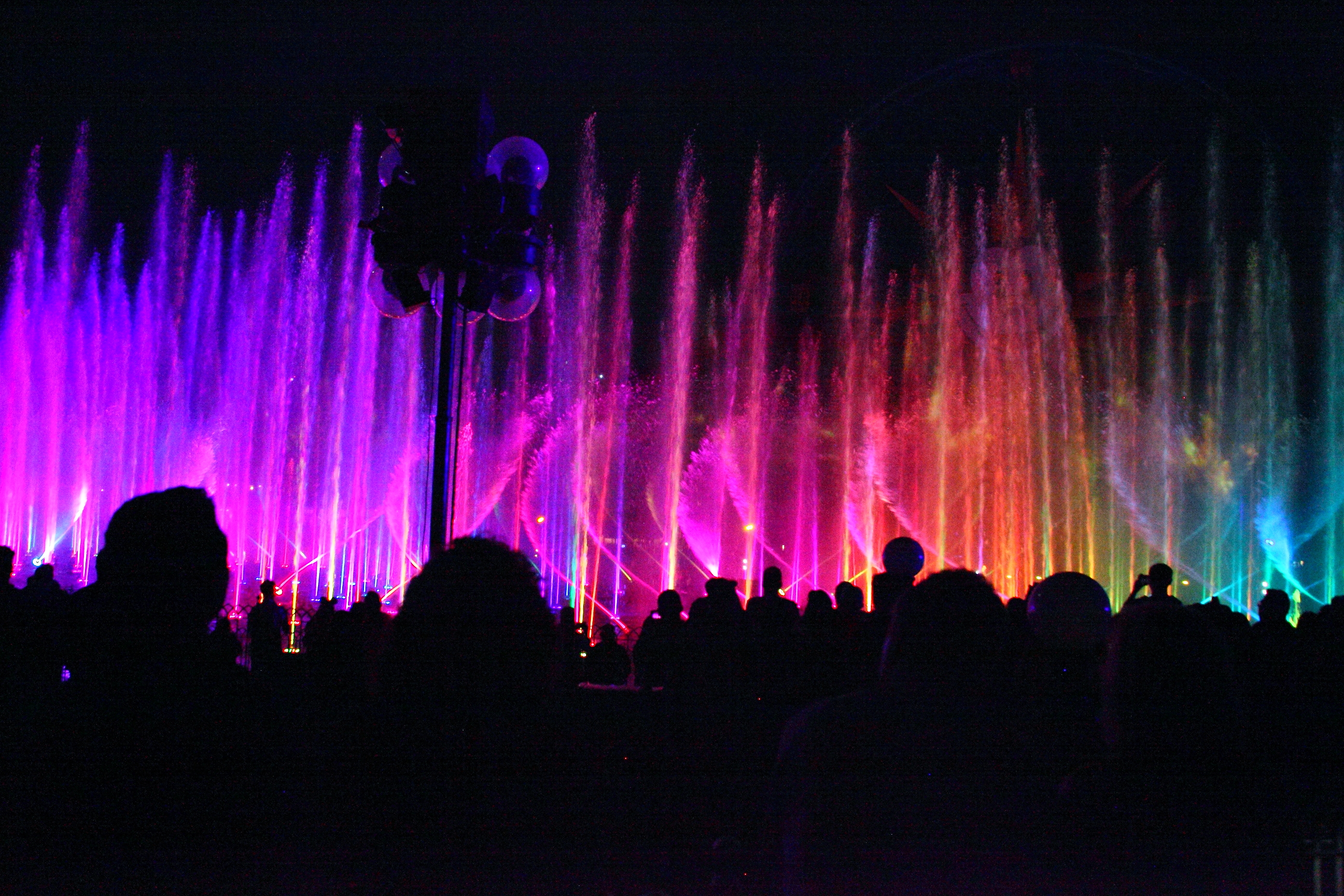 The Opening Night Adventure ended with reserved seating for World of Color
