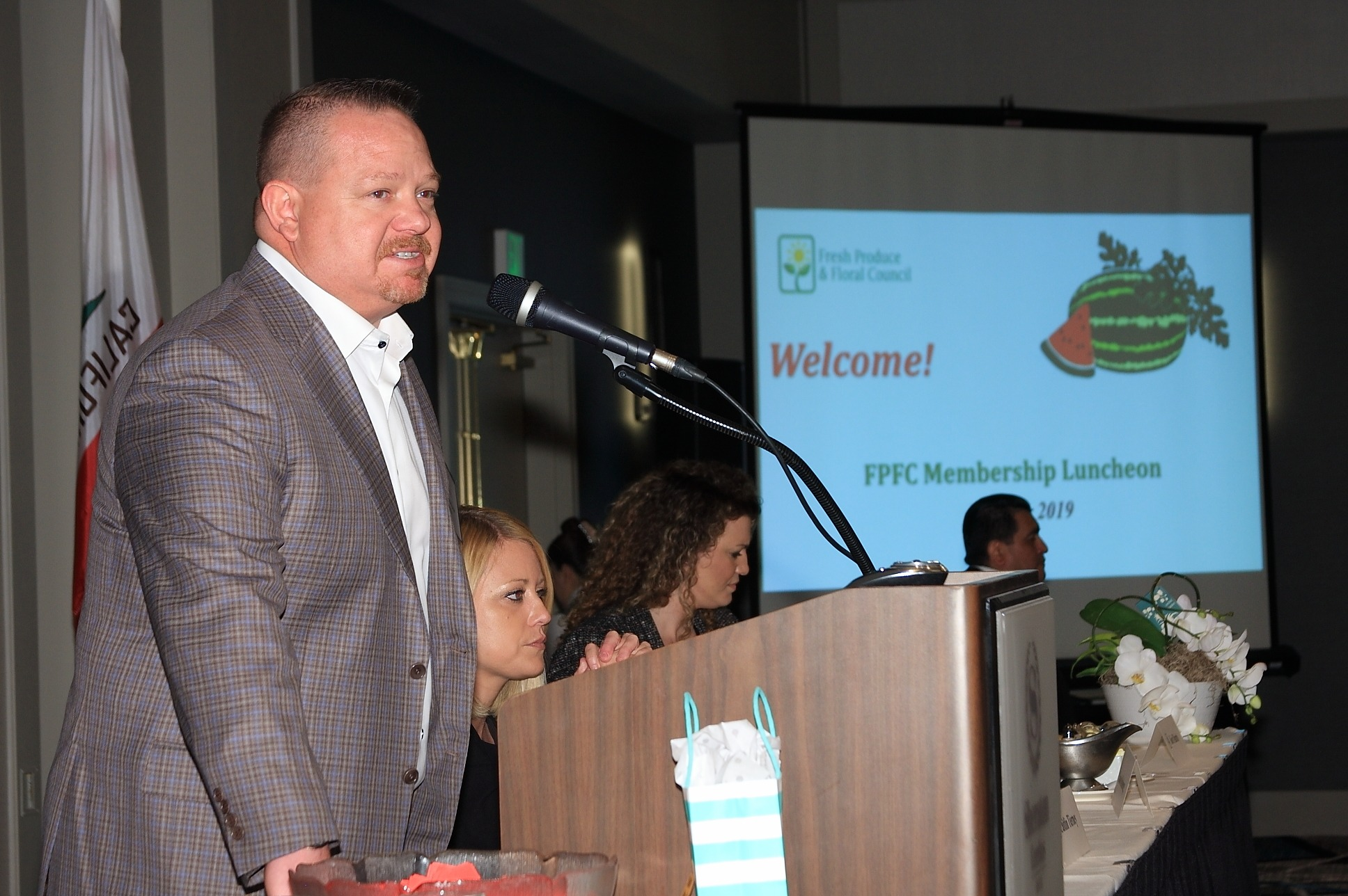 FPFC Chair Andrew Bivens of Westlake Produce Company