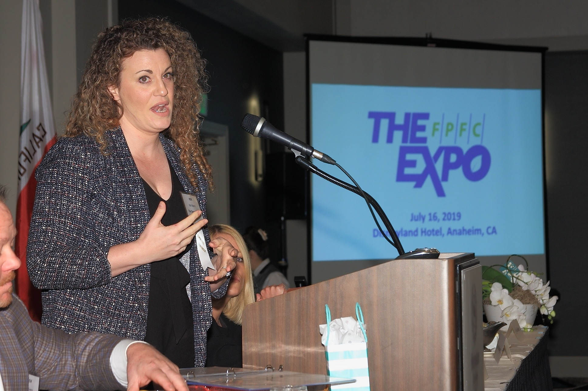 Expo Chair Kori Martin of The Oppenheimer Group discussed the changes at The FPFC Expo