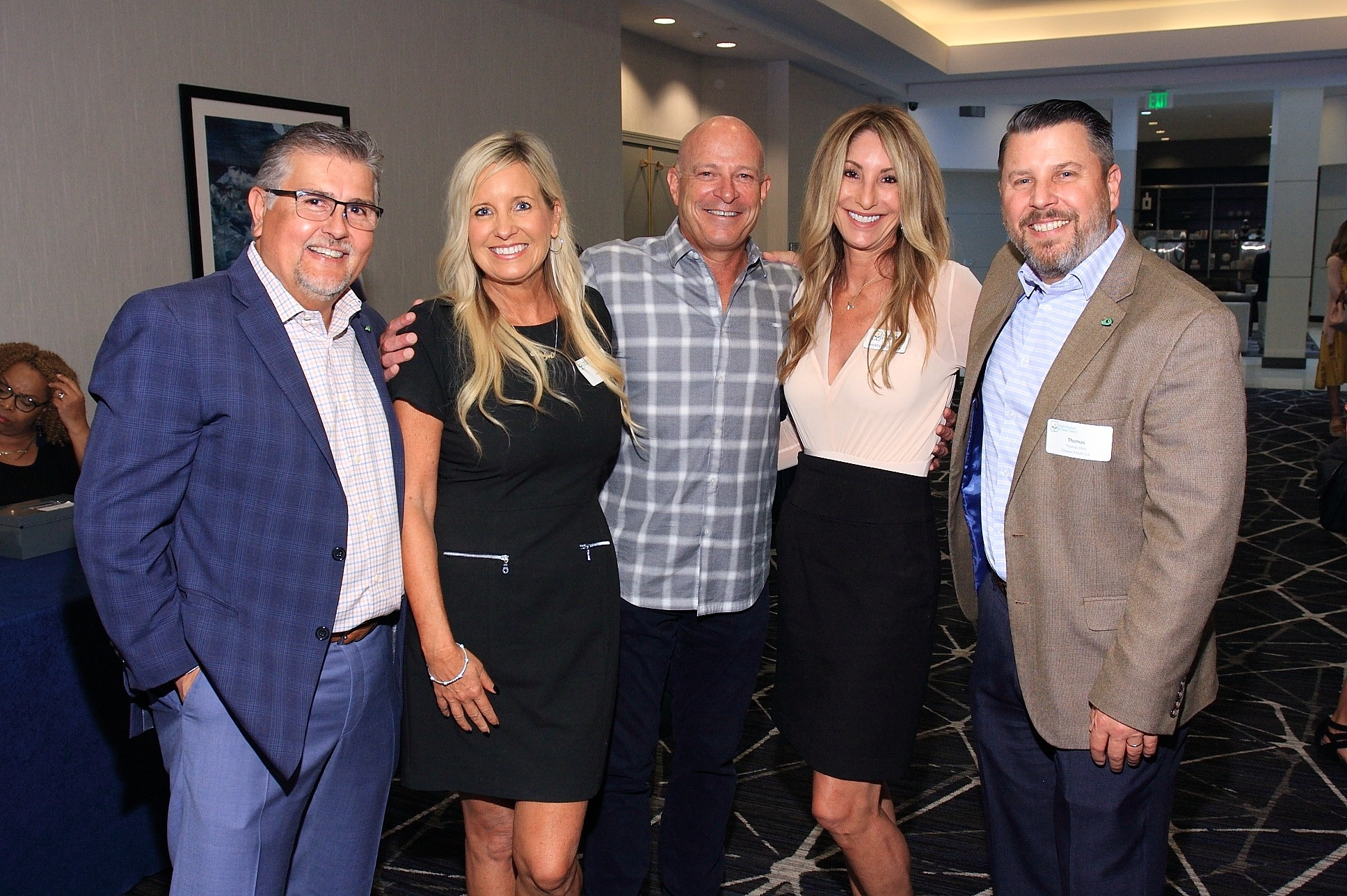 Dan Acevedo of GreenFruit Avocados, Kristyn Lawson with PSM, Jeff Kyer with Advantage Fresh, Therese Ferrara of Preferred Sales and Thomas Huls with Chosen Foods LLC.