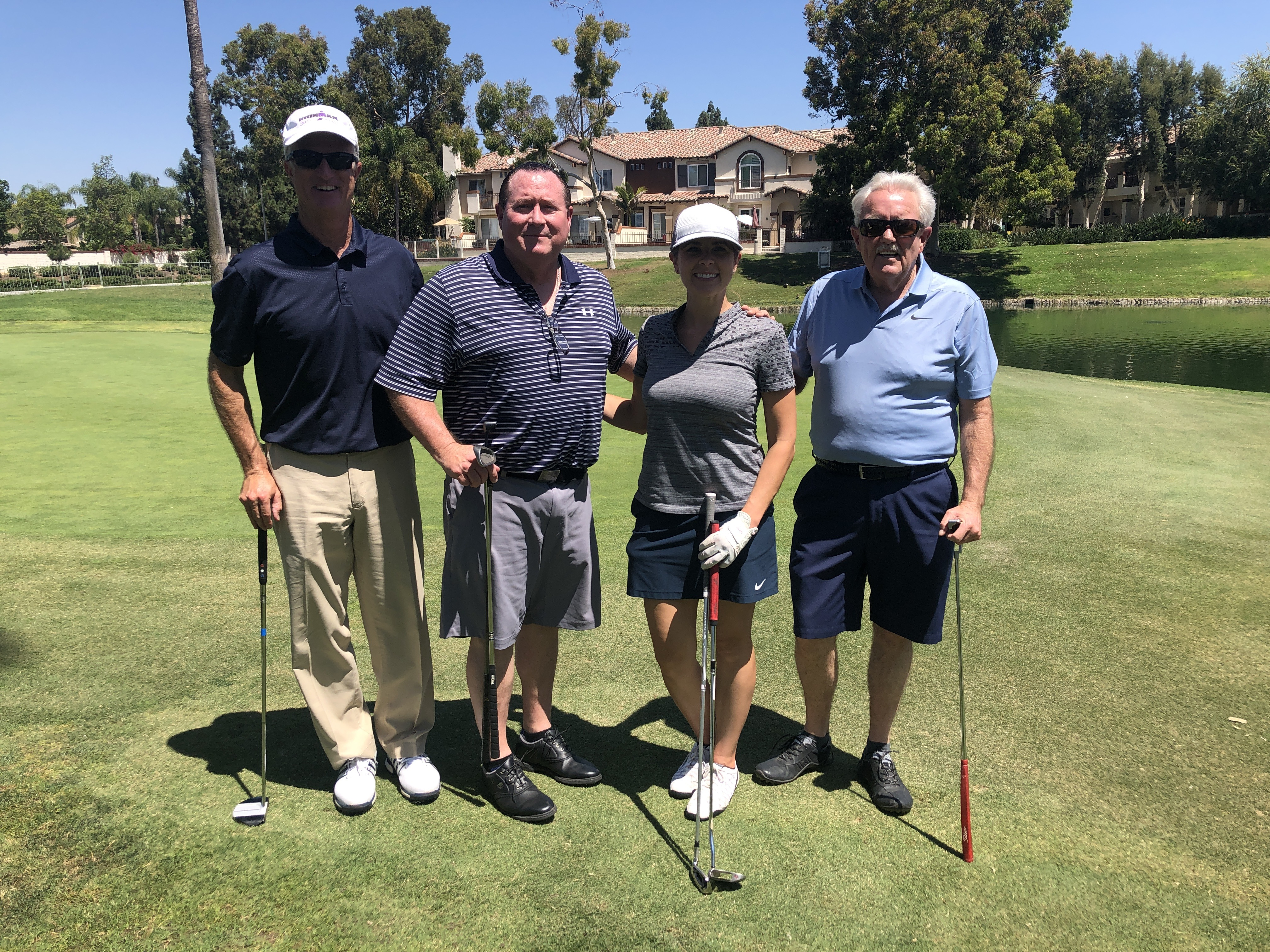 Kevin Allen of Pacific Southwest Container, John Savidan of Gelson's Markets, Audrey Dunne of Curation Foods, and Pat McDowell of Perimeter Sales & Merchandising.