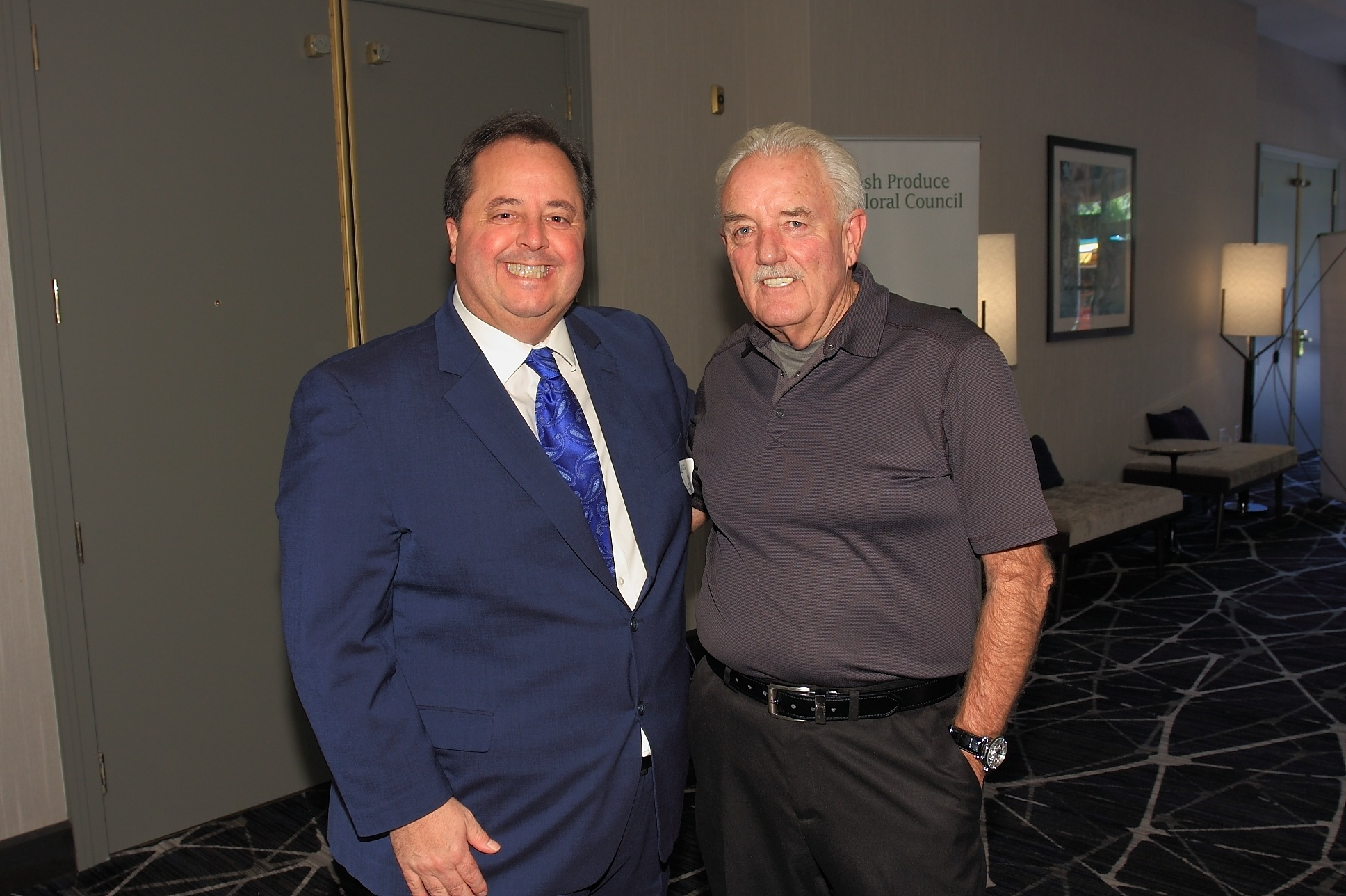 Gary Caloroso of the Giumarra Companies and Pat McDowell of Perimeter Sales & Merchandising