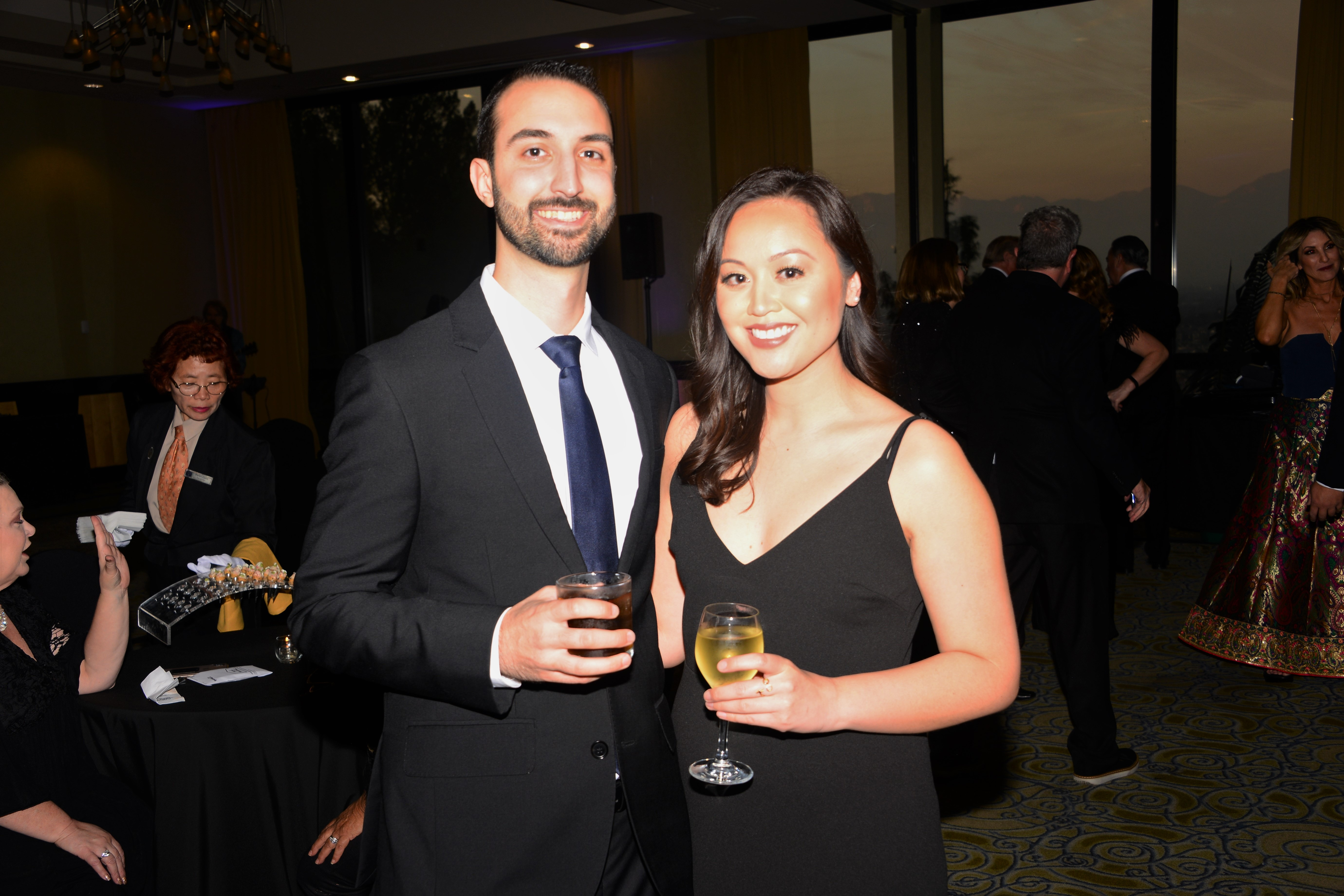 FPFC Apprentice, Amanda Nojadera and Peter Garcia of Quebec Distributing Co. having a great time before the Apprentice Graduation.
